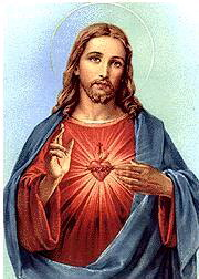 June is dedicated to the Sacred Heart of Jesus
